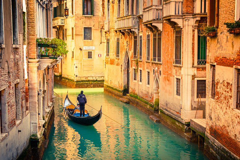 From £109pp instead of up to £150.65pp (from Holiday Angels 4 U) for a 3-night 4* Venice break including flights, gondola ride and breakfast - save up to 28%