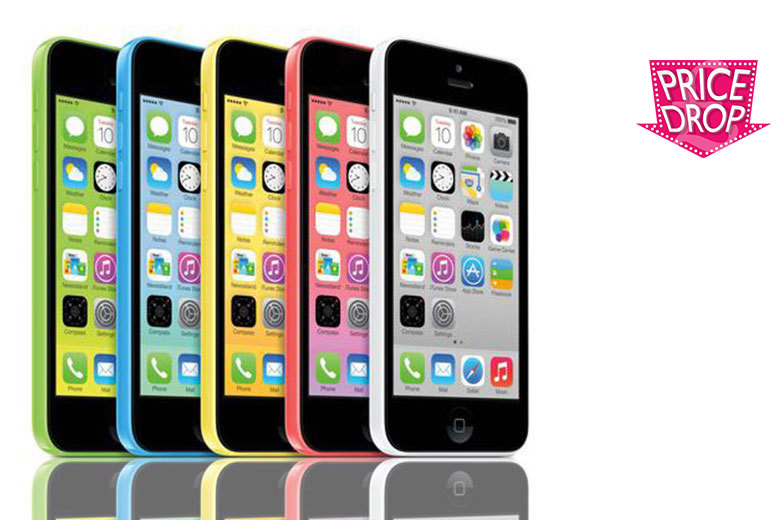 £89 (from Renew Electronics) for an 8GB Apple iPhone 5c, £109 for 16GB - choose from five colours!