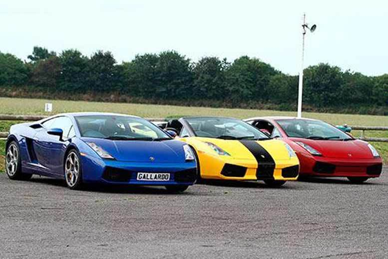 From £39 for a three-lap supercar experience, from £85 for six laps or from £119 for nine laps at a choice of six venues with Experience Limits - save up to 74%