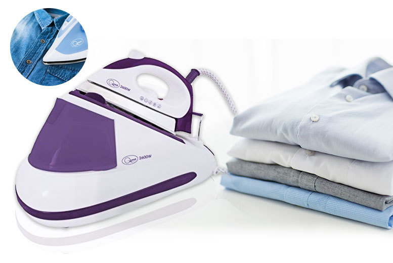 £38 instead of £129.99 (from Groundlevel) for a 2600W Steam Generator Iron - save 71%