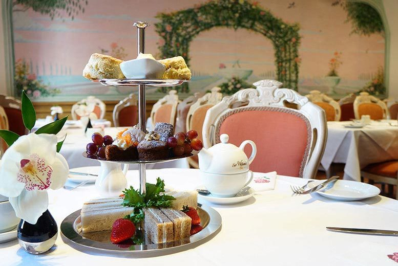 £24 instead of £68 for afternoon tea for two with a glass of Prosecco each, £46 for four, £66 for six at the London Elizabeth Hotel, Hyde Park - save up to 65%
