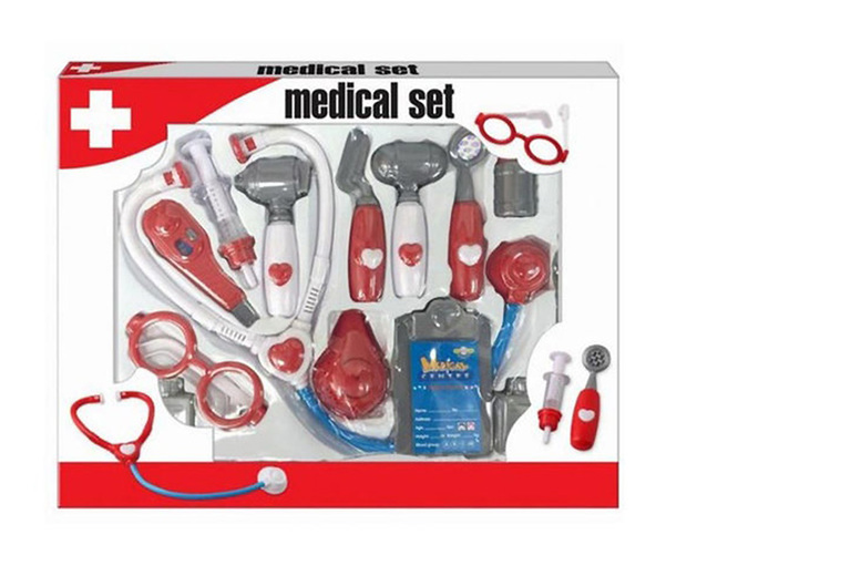 The Best Deal Guide - 13-Piece Toy Medical Set