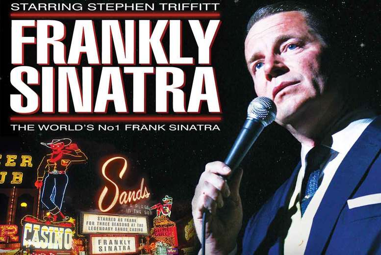 DDDeals - £19 instead of £56 for two tickets to Franky Sinatra at Regent Theatre, Ipswich - save 66%