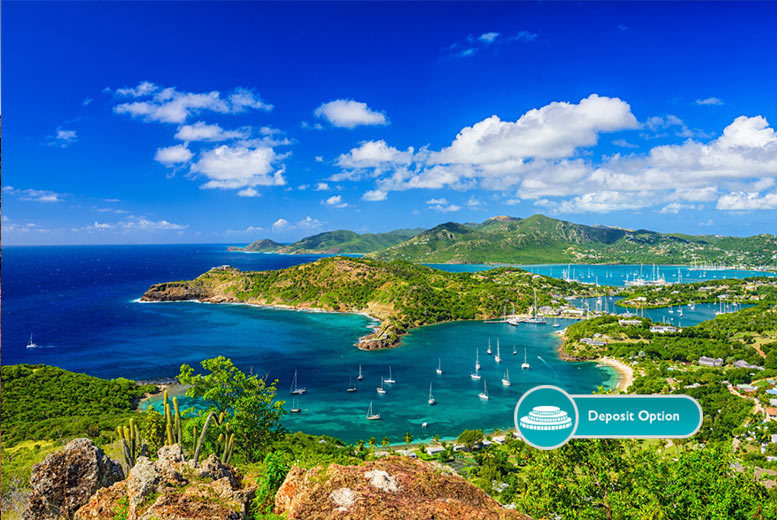 From £999pp (from Crystal Travel) for a seven-night all-inclusive Antigua stay with flights, or from £1499 for fourteen nights, or pay a £400 deposit today - save up to 30%