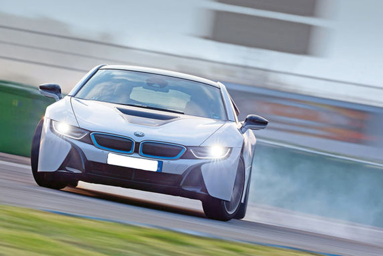 £89 instead of up to £119 for a BMW i8 driving experience from Activity Superstore in a choice of five UK locations - save up to 25%