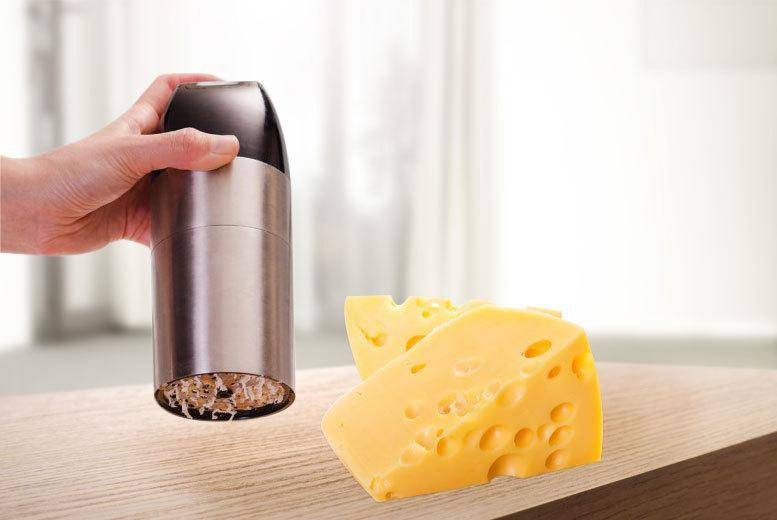 £8.99 instead of £29.99 (from Groundlevel.co.uk) for an automatic cheese grating mill - save 70%
