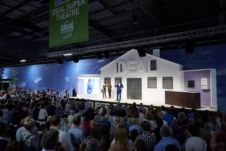 ideal home show at eventcity manchester 14 for two tickets save