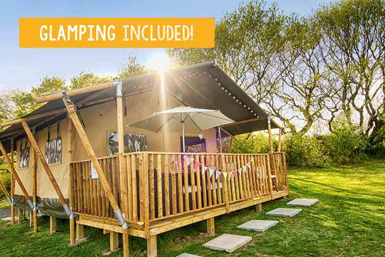 £99 (at Parkdean Resorts) for a four-night midweek or three-night weekend self-catered or glamping stay for up to six people including return ferry - save 53%