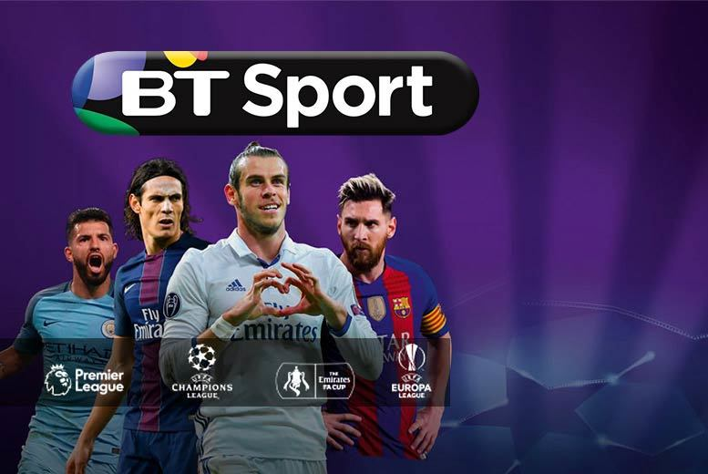 £9 for 12 months of half-price BT Sport at £11.49 per month with three months of HD Sky TV and activation - keep up with latest Premier League, UEFA Champions League, UFC and more!