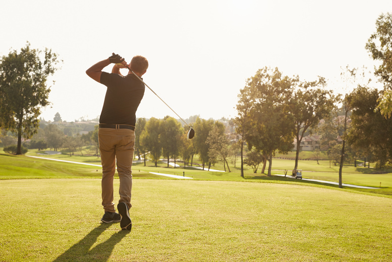 DDDeals - £19.95 for a round of golf and a drink each for two people, or £36 for four people at Calverley Golf Club