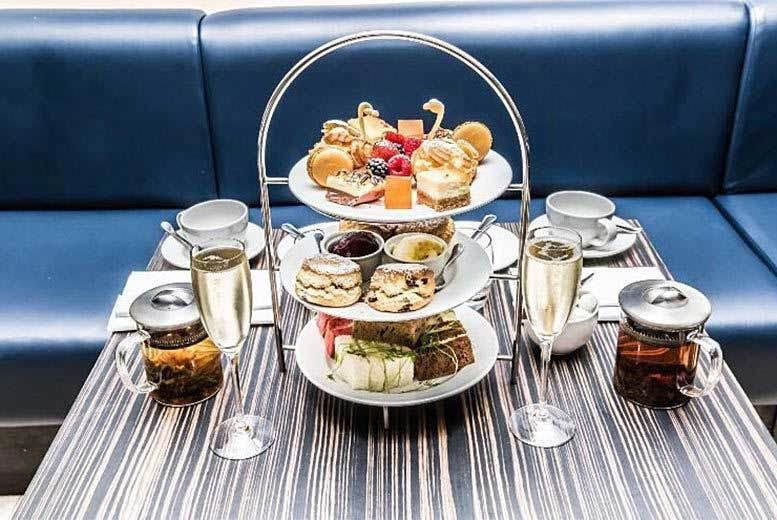 £29 instead of £76 for afternoon tea for two with a glass of bubbly each at The Crescent Restaurant at the Montcalm Hotel, Marble Arch - save 62%