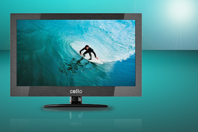 "£269 (from Gimmesome.co.uk) for a 40"" Cello LED HD ready TV – bring your telly into the 21st century today!"