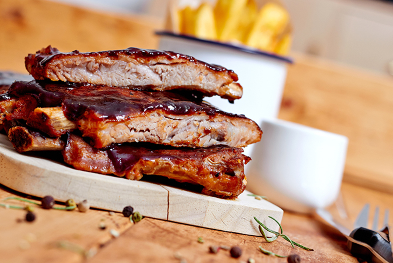£16 instead of up to £32.80 for a BBQ ribs meal for two people including a beer each at Putney Fire Bar & Grill - save up to 51%