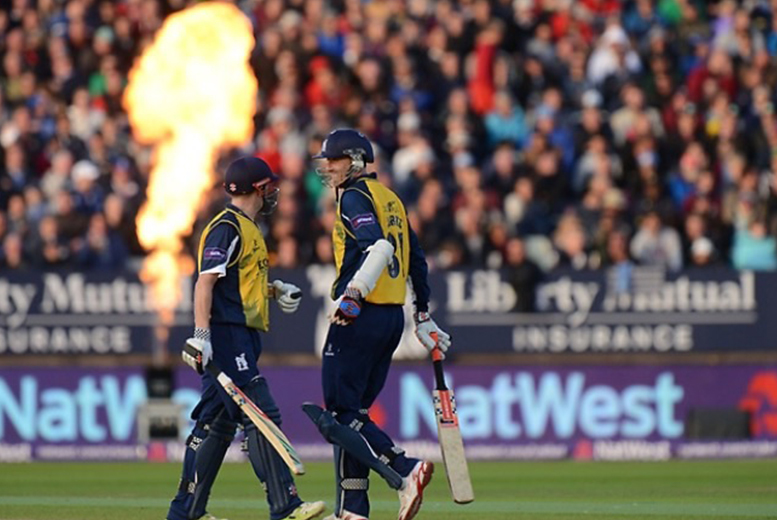 £18 for a standard ticket to see the Birmingham Bears in the NatWest T20 Blast at Edgbaston Cricket Ground, or £30 for a Skyline ticket