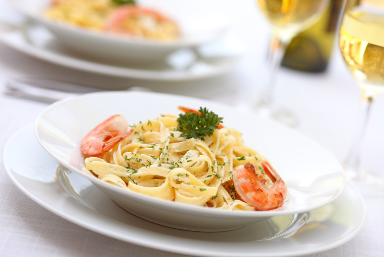 £14 for an Italian meal for two including a glass of wine each at Salvatore's Ristorante, Southport