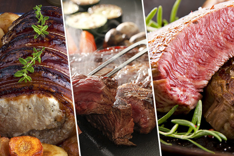£29 instead of up to £59.70 for a 'Traditional' meat selection hamper, £39 for a 'Finest' selection hamper or £49 for an 'Ultimate' hamper - save up to 51%