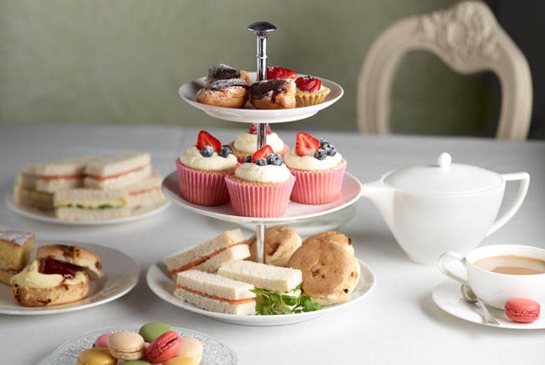 £9 instead of £18 for delicious afternoon tea for 2 at Talking Tea Room, Bedlington - save 50%