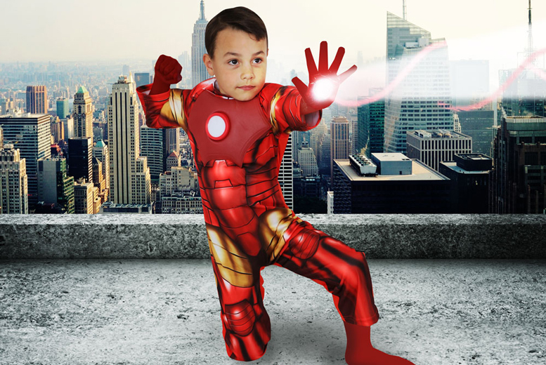 £12 for a superheroes-themed photoshoot for up to 2 children including 2 prints of same image and a goody bag each at Andreas Photography - save up to 89%