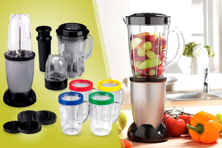£17.99 instead of £58 for a 17-piece multi-purpose blender set from Wowcher Direct - save 69%