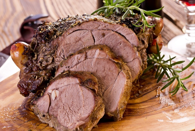 £14 instead of up to £29.80 for a Sunday carvery for two with a glass of sparkling Perry wine each at The Wroxeter Hotel, near Shrewsbury - save up to 53%