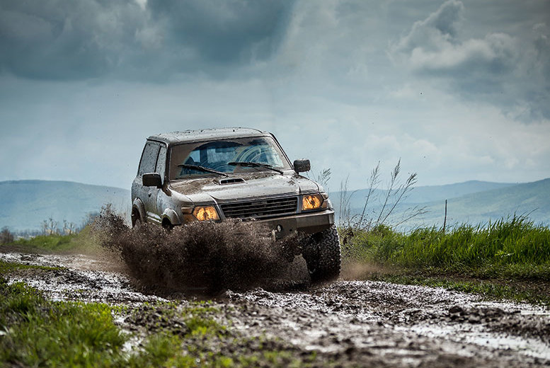 £64 instead of up to £139 for a 3-hour triple off-road driving challenge with Activity Superstore, Milton Keynes - save up to 54%
