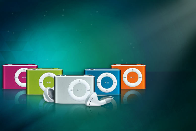 £8 instead of £49.99 (from Qualite) for a shuffling mini MP3 player with earphones - choose from 5 colours & save 84%