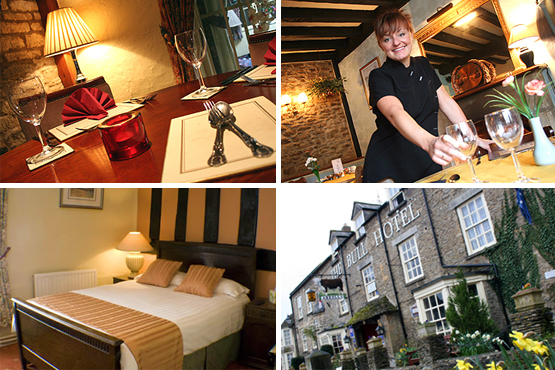 £99 instead of up to £198 for a 2 night stay for two, including breakfast and a dinner, at the Bull Hotel Fairford, The Cotswolds - save up t