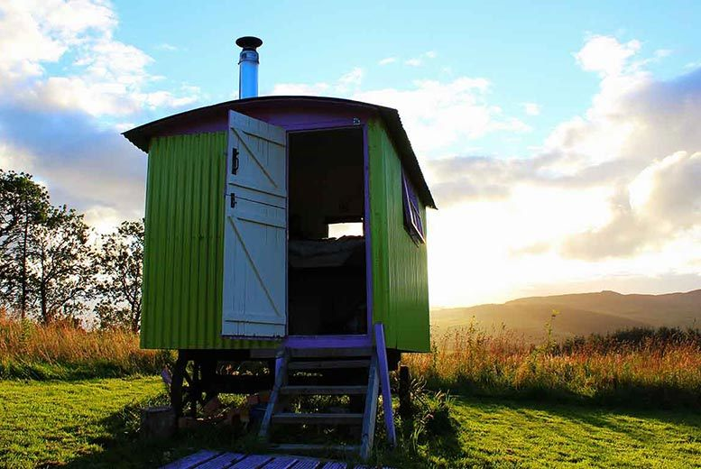 £79 for a two-night luxury glamping break for two in a pod, bell tent or shepherd hut, or £89 for a stay in a yurt, at Ecocamp Glenshee - save up to 54%