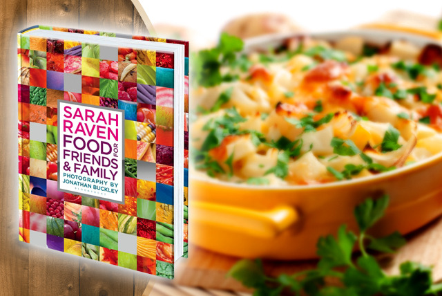 £12.50 instead of £27 (from Bloomsbury Publishing) for 'Sarah Raven's Food for Friends & Family' cookbook - save 54%