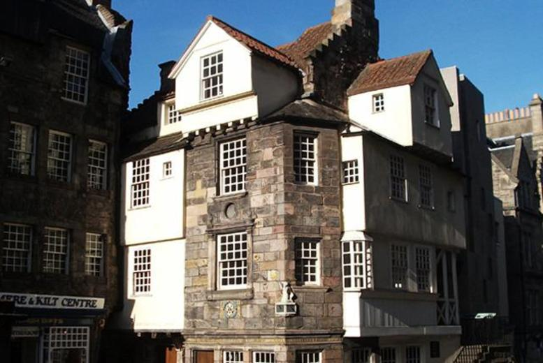 £5 for an audio tour of John Knox House for 2 adults, £6 for 2 adults & 2 children, £19 for up to 10 adults with Scottish Storytelling Centre, Edinburgh - save up to 58%