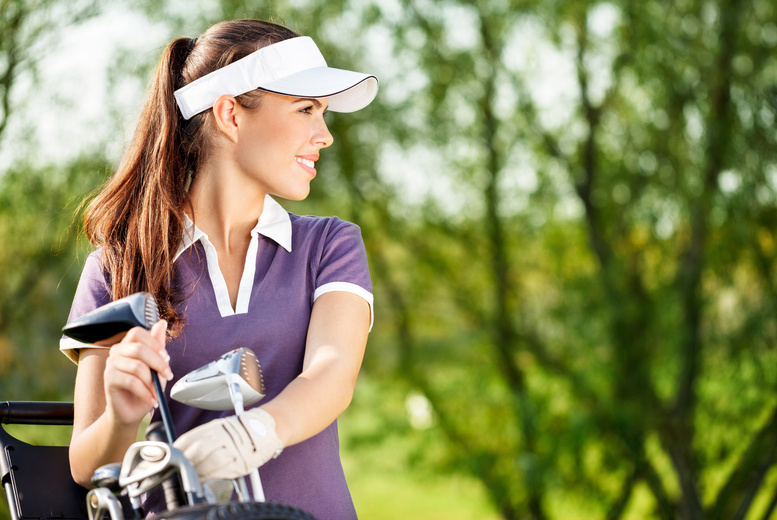 £49 instead of up to £95 for a 3.5 hour golf training day at Ramsdale Park Golf Centre, Nottingham - get in the swing of things and save up to 48%