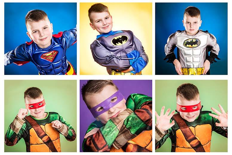 £9 instead of up to £69.99 for a 30-minute superhero photoshoot including an A3 photo poster at Jason Walker Photography, South Wigston - save up to 87%