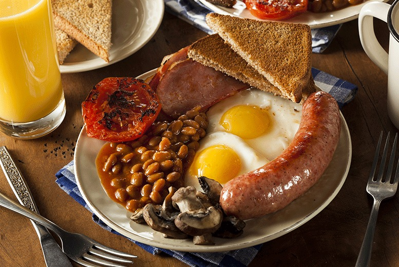 £9.99 instead of up to £20 for a full English breakfast with juice for two at The Lavender Rooms, Knaresborough - save up to 50%