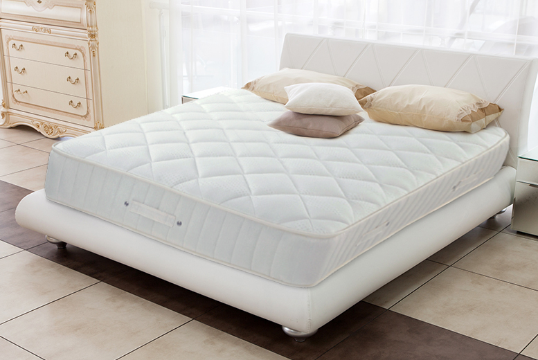 £219 for a single memory foam pocket sprung mattress, £269 for a small or regular double, £299 for king or £369 for super king - save up to 63% + DELIVERY INCLUDED!