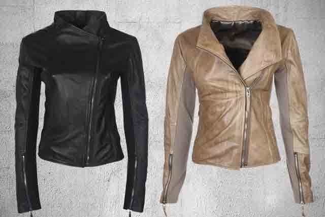 £179 instead of £369 (from Boda Skins) for a stretch panel, leather biker jacket in a choice of 2 colours - save 51%