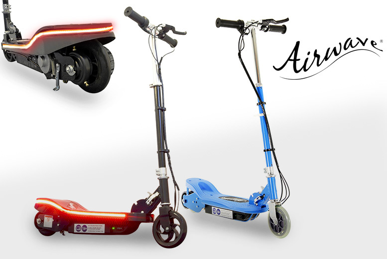 £59 instead of £155 (from Pro Rider Leisure) for an Airwave® 120w electric scooter, or £66 to include lights - save up to 63%