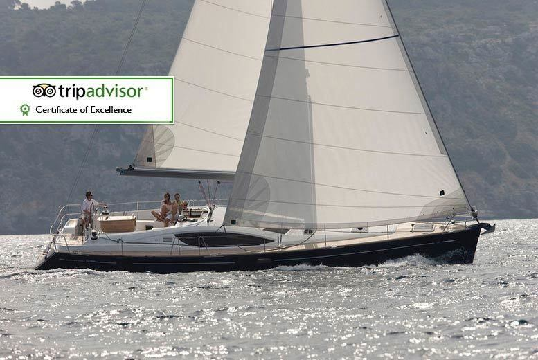 DDDeals - £89 for a half-day Solent sailing trip for one person including a two-course meal and bubbly, £175 for two people with Escape Yachting - save up to 40%