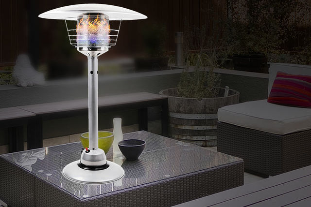 4000w table top gas patio heater