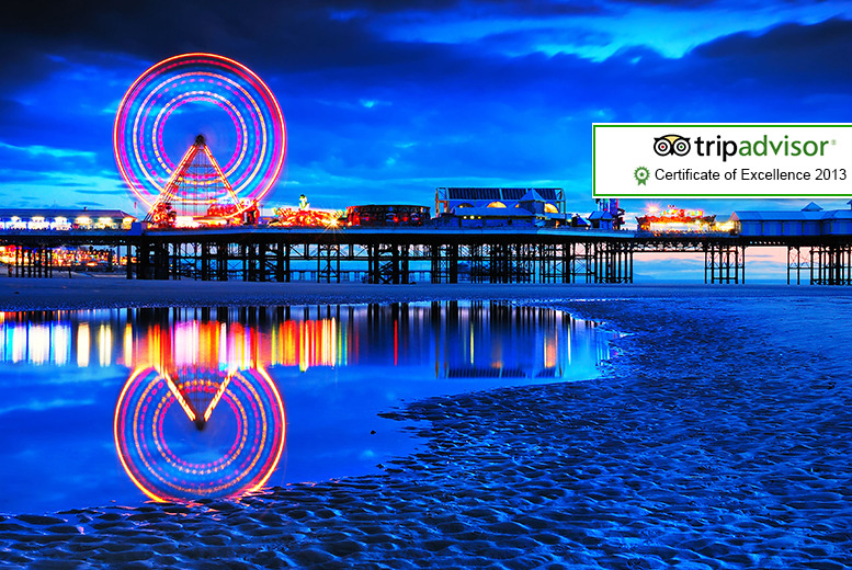 £49 (at Alfie's Hotel) for a one-night Blackpool break for two including dinner, wine and breakfast, £89 for two nights including dinner, wine and breakfast - save up to 51%