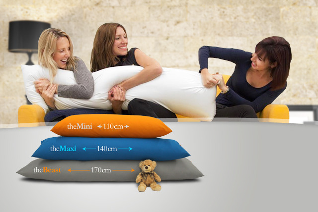 £19 instead of £40 (from Hugmeister) for a Mini Hugmeister pillow, £24 for a Maxi pillow or £29 for a Beast pillow - save up to 52%