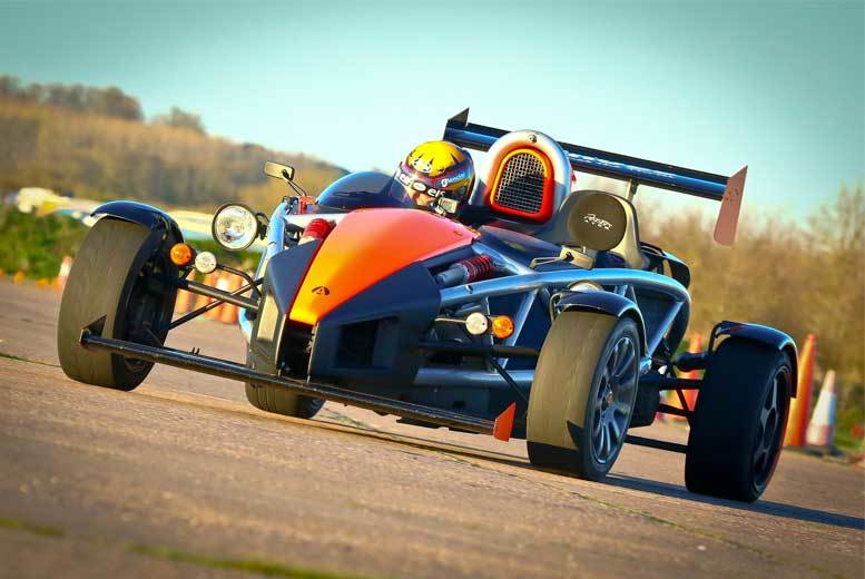 DDDeals - £49 instead of £99 for three laps in an Ariel Atom with Car Chase Heroes - choose from 10 UK locations and save 51%