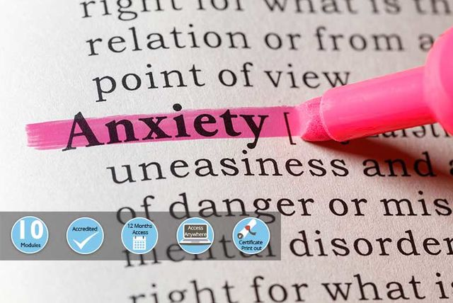 accredited anxiety awareness course