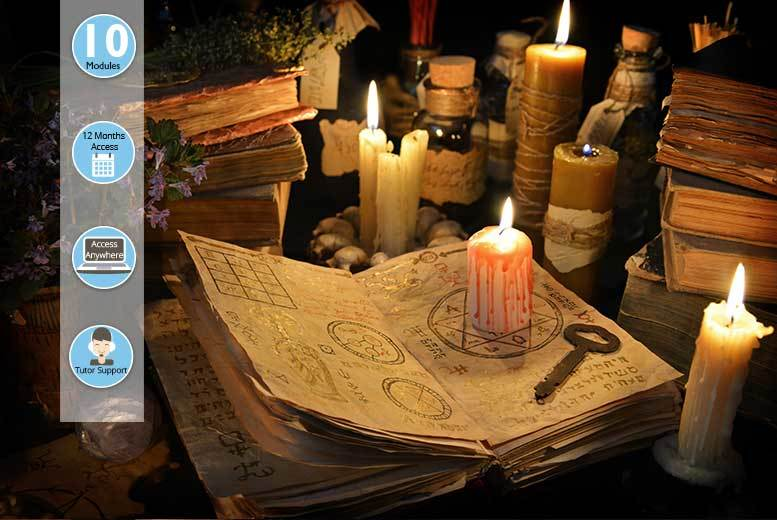 £19 instead of £127 (from Centre of Excellence) for a certified online Wicca diploma course - save 85%