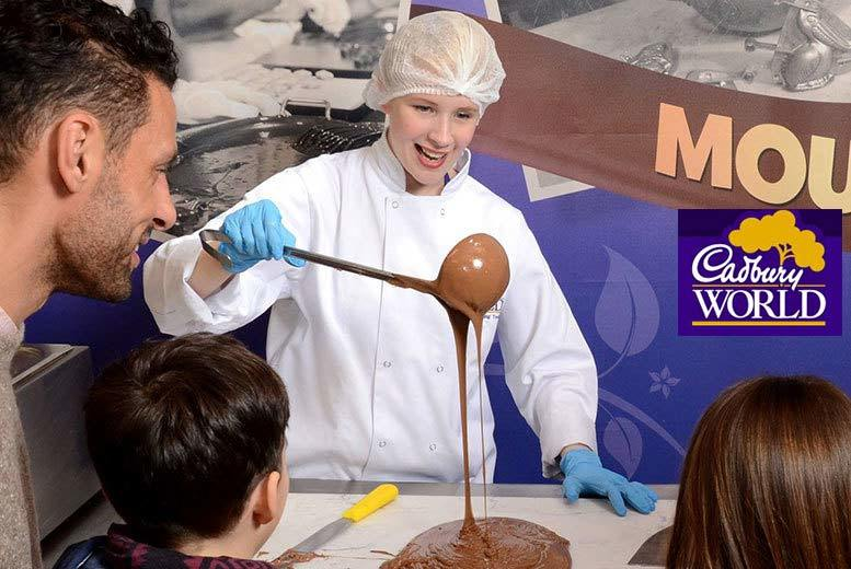 DDDeals - £79 for an overnight stay for two people including breakfast and Cadbury World tickets, £99 for a family of three, £119 for a family of four, or stay two nights from £149 - save up to 40%