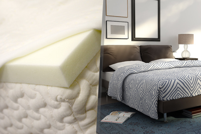 £39 instead of £79.95 for a single memory foam mattress topper, £49 for a double or £59 for a king - save up to 51%