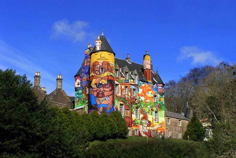 DDDeals - £9 instead of £18 for entry for two adults to Kelburn Castle and Country Centre, or £14 for a family of five - save up to 50%