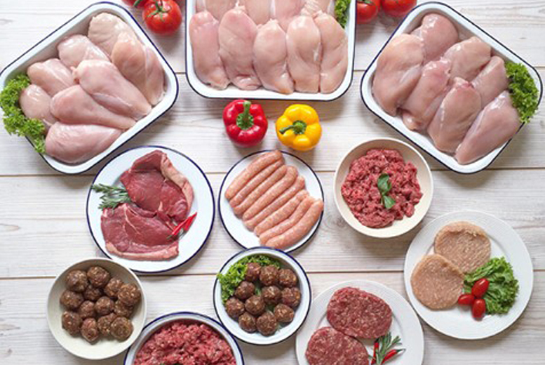 DDDeals - £29 (from Live Lean) for a small 32-piece lean meat hamper, £49 for a large 50-piece lean meat hamper - save up to 56%