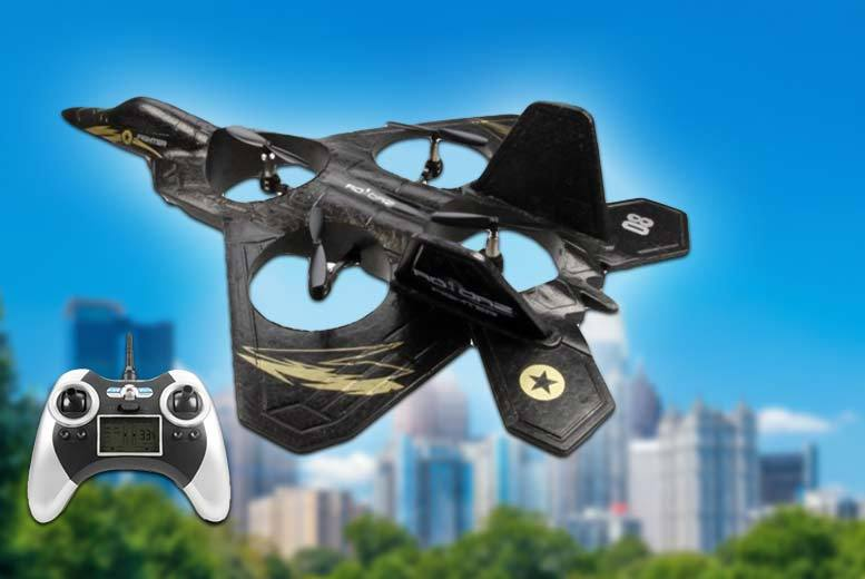 Quadcopter Rotorz RT08 Super Fighter Jet Drone