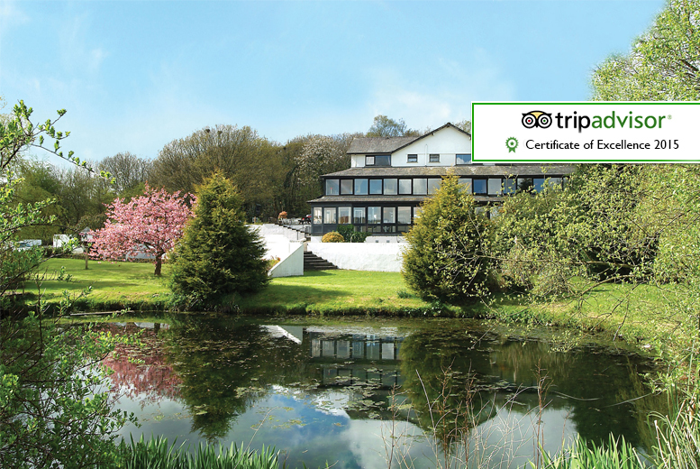 £139 for a 2-night Lake District break for 2 including breakfast and spa access, £189 with breakfast, spa access, 4-course dinner and Windermere cruise - save up to 38%