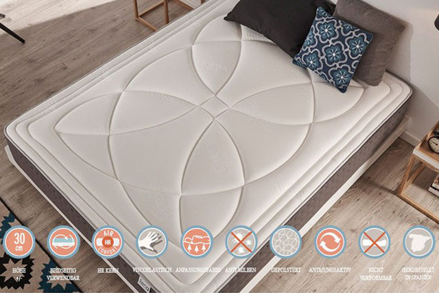 visco luxury royal premium mattress